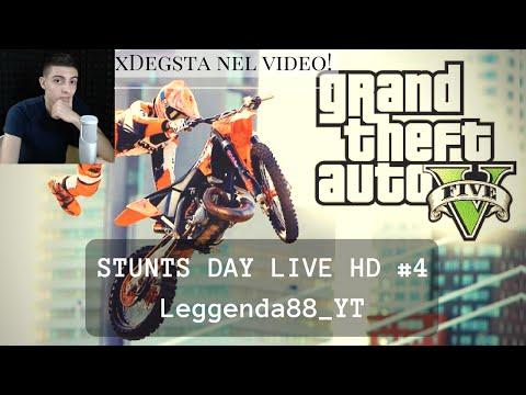 STUNTS DAY LIVE HD GTA #4 (with link) | Leggenda88_YT w/ xDegsta