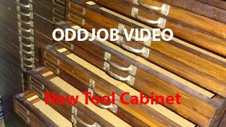 Tool Cabinet Project - Workshop Oddjobs.