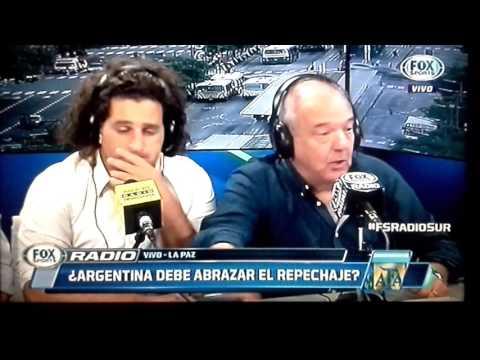 Este equipo es un desastre! Bolivia vs. Argentina fox sport radio [cam]