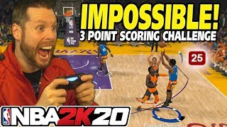 The Impossible NBA 2K20 3-Point Challenge