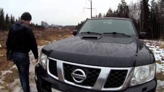 видео Тест драйв, обзор Nissan Patrol