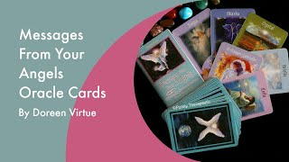 LOOKING THROUGH 'MESSAGES FROM YOUR ANGELS' ORACLE CARDS | Purely Therapeutic