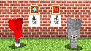 Wähle nicht den Falschen Schalter in Minecraft