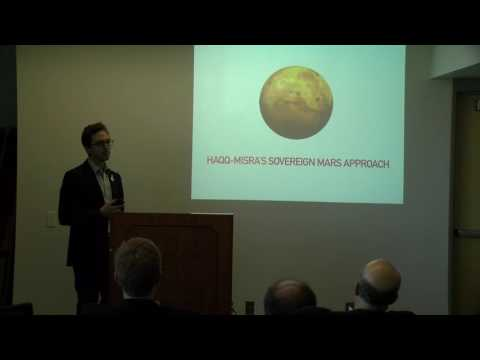 Zach Miller - Legality of Colonization - 19th Annual International Mars Society Convention