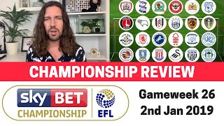 eFL Championship Review - 2nd Jan 2019