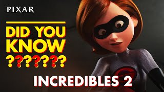 Incredibles 2 Fun Facts | Pixar Did You Know?