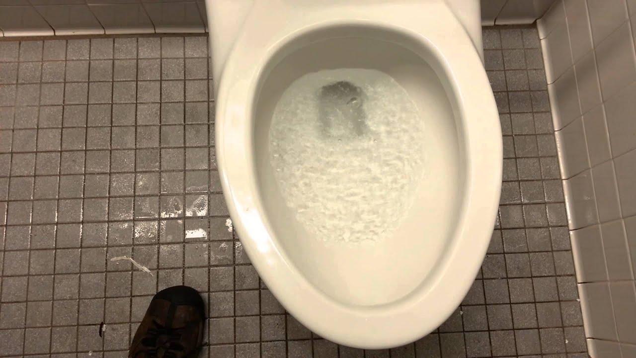 197: First flush of a brand new Kohler toilet. - YouTube