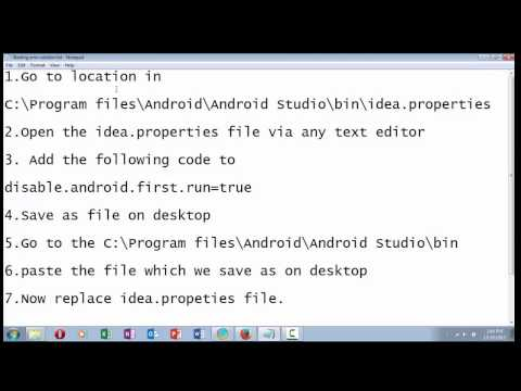 How To Solve Start Up Error On Android Studio Lang Nullpointerexception Internal Error