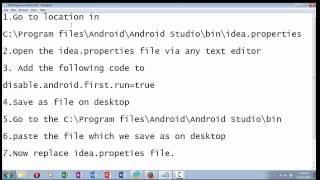 How Solve Start Error Android Studio Lang Nullpointerexception Internal Error
