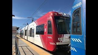 UTA HD 60fps: Riding Siemens S70 LRV on TRAX Red/Blue Line (5/9/19)