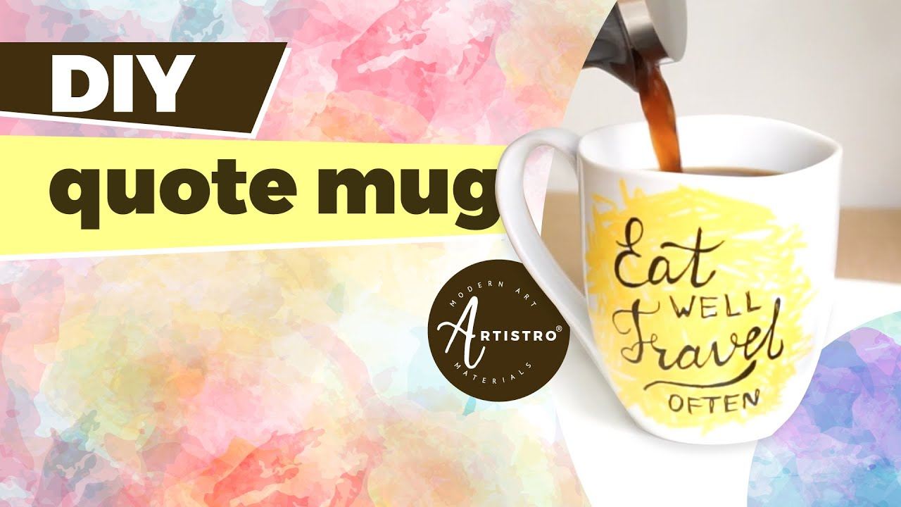 3 Ways to Paint Mugs recommend