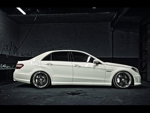 Mercedes E Class W212 Amg Tuning Body Kit Youtube
