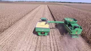 Adrian IL Fall Corn Harvest 2018