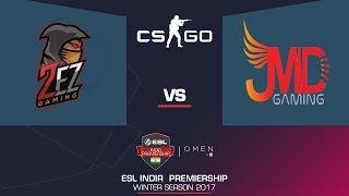 2ez Vs JMD  (Cobblestone) | CS:GO | Omen By Hp ESL India Premiership 2017 | Winter | November