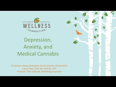 Webinar #7 - Depression, Anxiety and Medical Cannabis (1.28.2016 Recording)