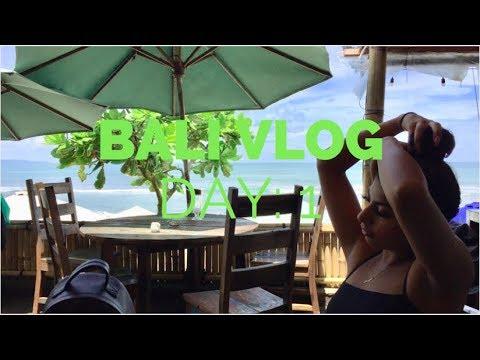 BALI VLOG 1: FLYING ALONE, MEET MY DAD, VILLA TOUR & KU DE TA