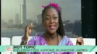 Celebrating Jumoke Alawode James After 5 Years On Your View
