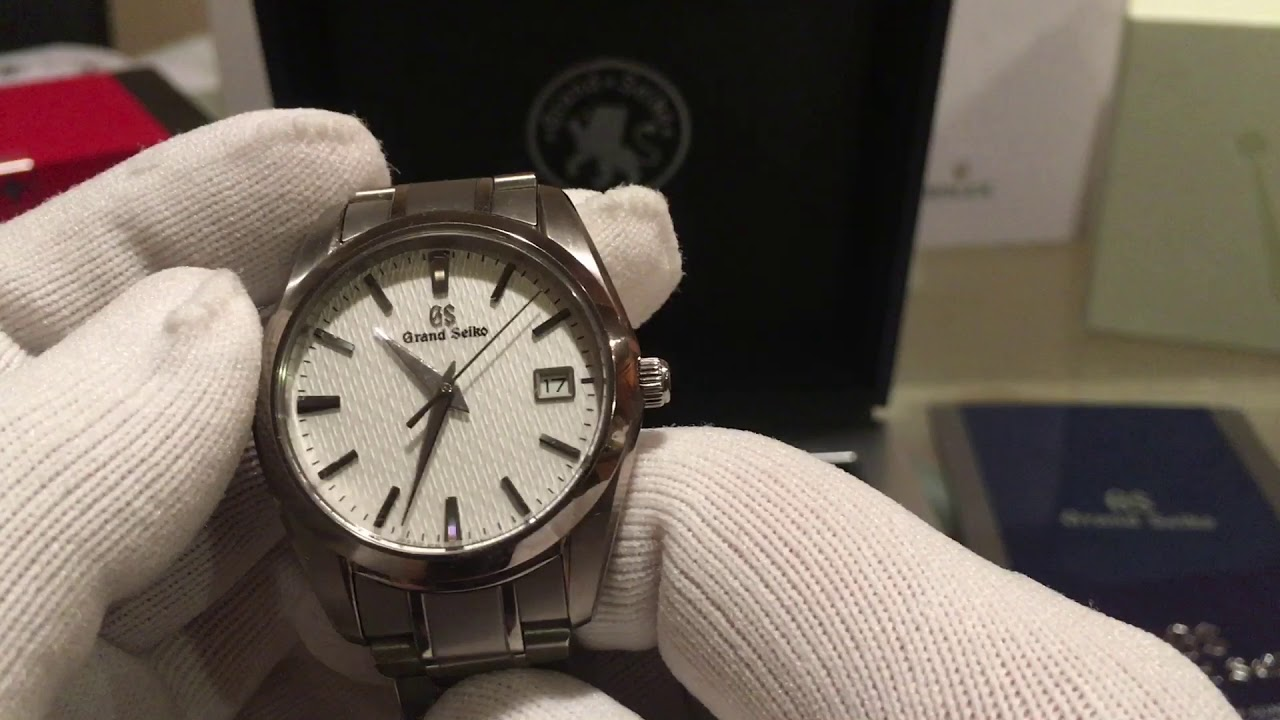 reputable site 8d802 09dc1 Grand Seiko SBGX 267 Watch Unboxing