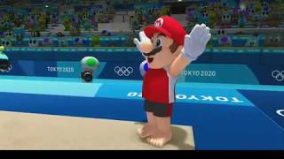 My progress of gymnastics in Mario and Sonic at the 2020 Olympics
