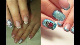❄ СНЕГИРЬ на ногтях ❄ КРАСИВЫЙ ЗИМНИЙ дизайн ногтей ❄ Дизайн ногтей гель лаком ❄