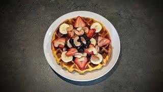 Sweet Potato Belgian Waffles (My Daily Vegan Breakfast, Gluten Free)