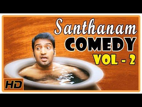 Santhanam Comedy Scenes   Vol 2   Vikram   Anushka Shetty   VTV Ganesh   Deiva Thirumagal   KLTA