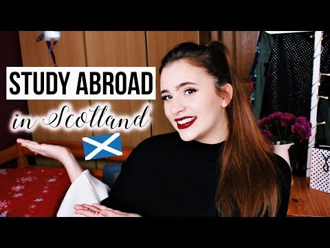 Study Abroad In Scotland Q&A - Student Accommodation, English Test, Student Loan & MORE! 🤓🇬🇧