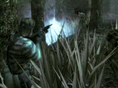 Metal Gear Solid 3 Snake Eater - E3 2003 Trailer - PS2