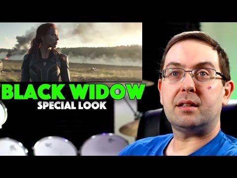 Play REACTION! Black Widow Special Look Trailer - Scarlett Johansson Marvel Movie 2020