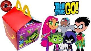 ЮНЫЕ ТИТАНЫ игрушки Хеппи мил в Макдональдс январь 2019 /Happy Meal McDONALDS TEEN TITANS GO