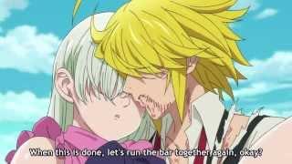 Nanatsu no Taizai Episode 22: Meliodas saves Elizabeth