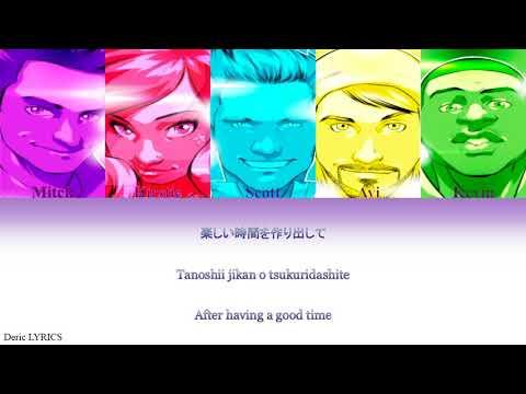 Pentatonix - Perfume Medley (Color Coded Lyrics) [Kan/Rom/Eng]