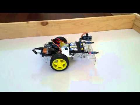 Beginner Robotics (A) - Wall Following Robot Car