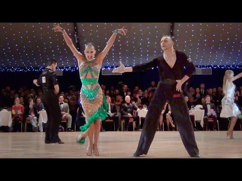 Maurizio Vescovo & Andra Vaidilaite - WDC World Championship Professional Latin 2014 - Final Chacha ▶2:01
