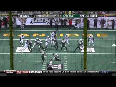 2015 Week 19 Arizona Rattlers at San Jose SaberCats