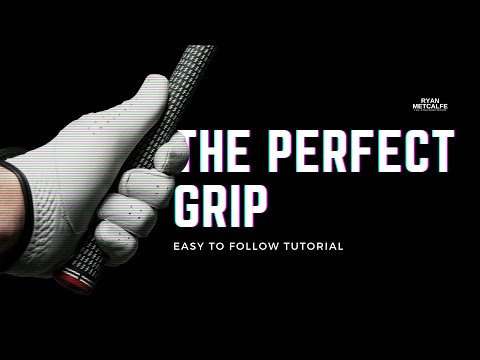 SIMPLE TIP FOR A PERFECT GOLF GRIP