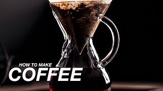 HOW TO MAKE COFFEE with PETER MCKINNON