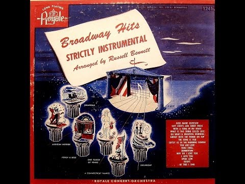 Royale Concert Orchestra: Broadway Hits Strictly Instrumental (Royale Records)
