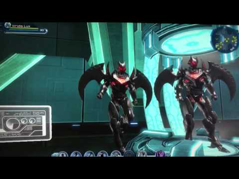 DCUO Dark Spector Batsuit PVE Tier 2 Colour Matching Video