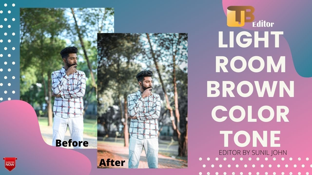 How to Edit  Brown Tone l Lightroom Mobile Tutorial