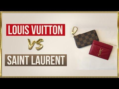 Card Holder Showdown: Louis Vuitton vs Saint Laurent