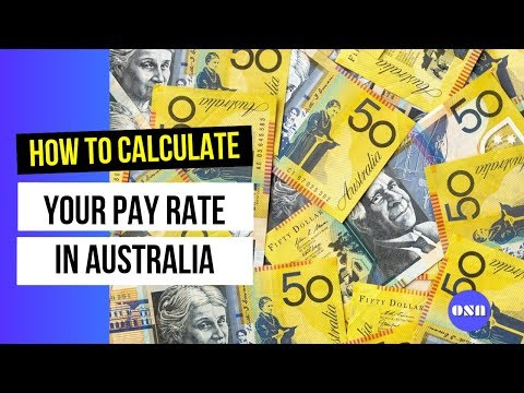 How To Calculate Minimum Wage (pay Rate)  In Australia Correctly | Fairwork Australia