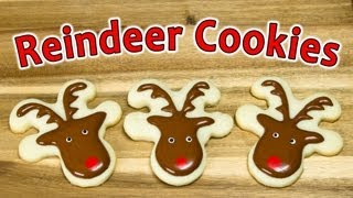 How To Make Reindeer Cookies From Cookies Cupcakes And Cardio