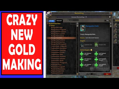 Amazing Shadowlands Profession Changes | BOE Crafting Legendaries, Gear Upgrades, No Expulsom?