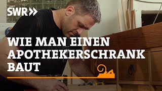 Craftmanship! How to build a pharmacy cabinet | DIY | SWR Documentation