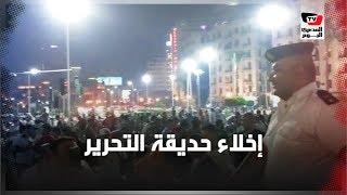 """بالسيلفي وعلامة النصر.. الأمن المصري يطلب من الجمهور الجزائري إخلاء حديقة «التحرير»"""""""