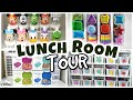 Lunch Room Tour   A CRAZY Amount Of Stuff! Containers. Cutters.   (Pt.1)
