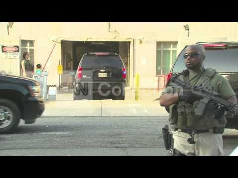 DC:BENGHAZI SUSPECT COURT ARRIVAL IN SUV