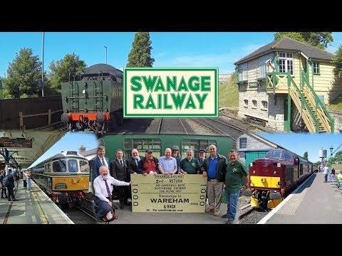 Swanage to Wareham & Back - First train for 45 years