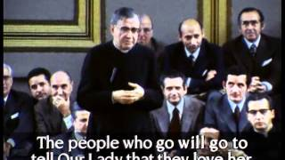 Glimpses of the preaching of St Josemaria Escriva - Brafa, 1972